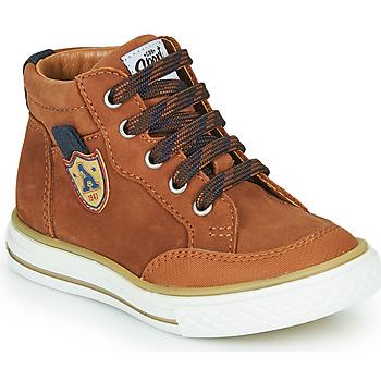 Scarpe Bambino Sneakers alte GBB NATHAN Marrone
