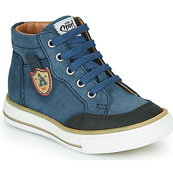 Scarpe Bambino Sneakers alte GBB NATHAN Blu
