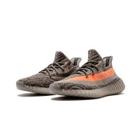 Scarpe Sneakers basse adidas Originals Yeezy Boost 350 V2 Beluga Steel Grey/Beluga-Solar Red