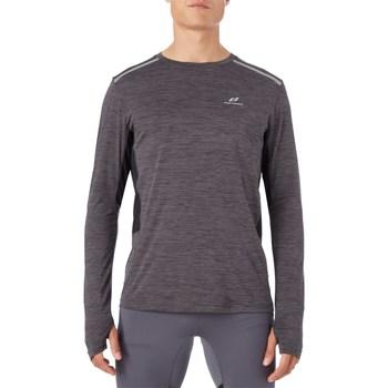 Abbigliamento Uomo T-shirts a maniche lunghe Pro Touch 302209 Manica Lunga Uomo Nero Nero