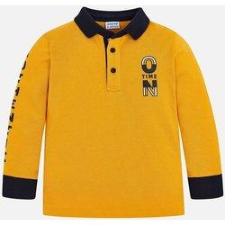 Abbigliamento Unisex bambino Polo maniche lunghe Mayoral ATRMPN-24274 Giallo