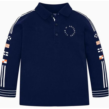 Abbigliamento Unisex bambino Polo maniche lunghe Mayoral ATRMPN-24280 Blu