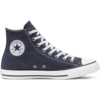 Scarpe Sneakers alte Converse ALL STAR HI CANVAS Navy