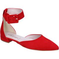 Scarpe Donna Ballerine Olga Rubini BJ388 Rosso