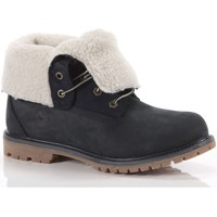 Scarpe Donna Stivaletti Timberland Authentics Teddy Fleece Fold-Down Boot Blu