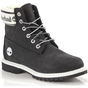 Scarpe Donna Stivaletti Timberland 6in Premium Boot LF W Nero