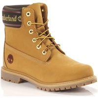 Scarpe Donna Stivaletti Timberland 6in Premium Boot LF W Giallo