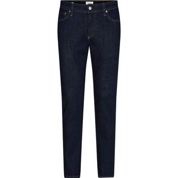 Abbigliamento Uomo Jeans dritti Calvin Klein Jeans K10K1070051A4 Jeans Uomo Uomo Blu Blu