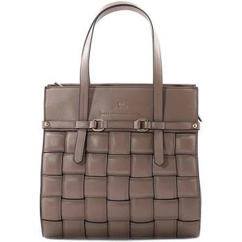 Borse Donna Tote bag / Borsa shopping La Carrie Borsa shopper con lavorazione - Beige
