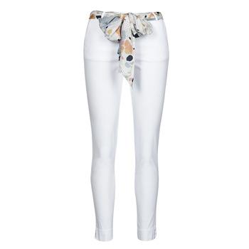 Abbigliamento Donna Pantaloni 5 tasche Betty London OUMA Bianco
