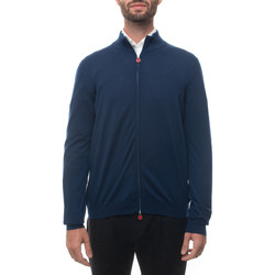 Abbigliamento Uomo Gilet / Cardigan Kiton UK209WUNITOK235 Blu