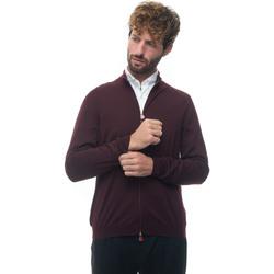 Abbigliamento Uomo Gilet / Cardigan Kiton UK209WUNITOK255 Bordeau
