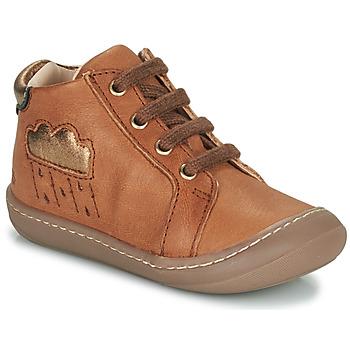 Scarpe Bambina Sneakers alte GBB APOLOGY Marrone