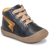 Scarpe Bambino Sneakers alte GBB APODAMI Blu
