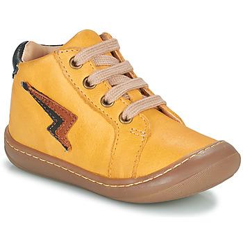 Scarpe Bambino Sneakers alte GBB APODAMI Giallo