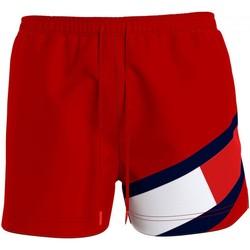 Abbigliamento Uomo Costume / Bermuda da spiaggia Tommy Hilfiger UM0UM02048 Rosso