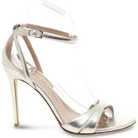 Scarpe Donna Sandali Sergio Levantesi Sandalo con tacco  in laminato platino platino