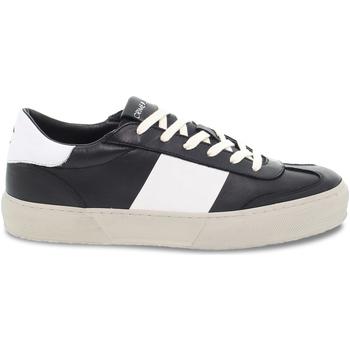 Scarpe Uomo Sneakers basse Crime London Sneakers  ESSENTIAL  in pelle nero e bianco nero,bianco