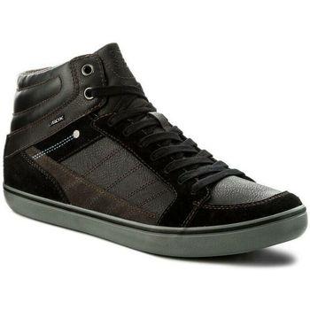 Scarpe Uomo Sneakers alte Geox UBOX U74R3E 022ME Nero