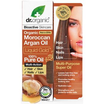 Bellezza Accessori per capelli Dr. Organic Argán Aceite Puro  50 ml