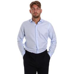 Abbigliamento Uomo Camicie maniche lunghe Les Copains 000.058 P3196SL Blu