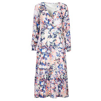 Abbigliamento Donna Abiti lunghi Only ONLZOE Bianco / Multicolore
