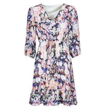 Abbigliamento Donna Abiti corti Only ONLZOE Bianco / Multicolore