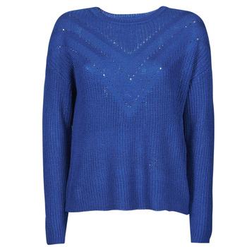 Abbigliamento Donna Maglioni Only ONLTRIXIE Blu