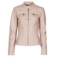 Abbigliamento Donna Giacca in cuoio / simil cuoio Only ONLBANDIT Rosa