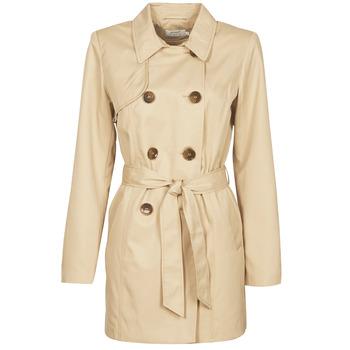 Abbigliamento Donna Trench Only ONLVALERIE Beige