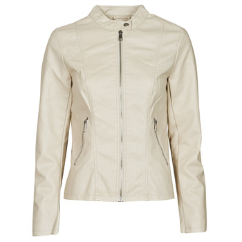 Abbigliamento Donna Giacca in cuoio / simil cuoio Only ONLMELISA Beige