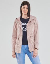 Abbigliamento Donna Parka Only ONLLORCA Rosa