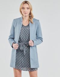 Abbigliamento Donna Cappotti Only ONLSOHO Blu