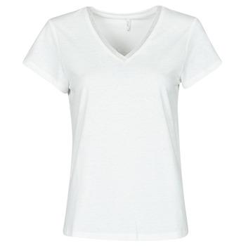 Abbigliamento Donna Top / Blusa Only ONLZENNA Bianco
