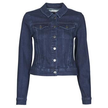 Abbigliamento Donna Giacche in jeans JDY JDYNEWWINNER STR JACKET BOX DNM NOOS Blu / Medium