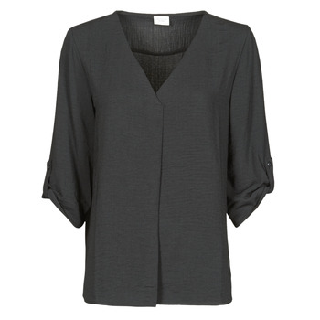 Abbigliamento Donna Top / Blusa JDY JDYDIVYA 3/4 TOP WVN NOOS Nero