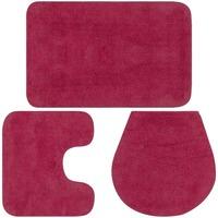 Casa Tappetino da bagno VidaXL Set tappetini per bagno Rosa