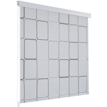 Casa Tende VidaXL Tenda da doccia 100 x 240 cm Bianco
