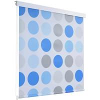 Casa Tende VidaXL Tenda da doccia 100 x 240 cm Blu