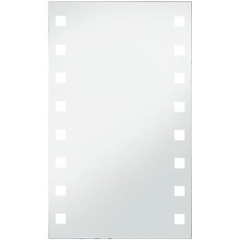 Casa Specchi VidaXL Specchio con LED 60 x100 cm Argento