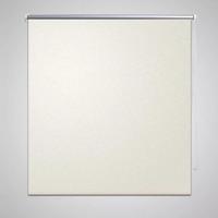 Casa Tende Vidaxl Tenda a Rullo Oscurante 120 x 175 cm Bianco Avorio crema