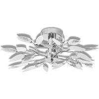 Casa Lampadari, sospensioni e plafoniere VidaXL Lampada da soffitto 45 x 15 cm Bianco