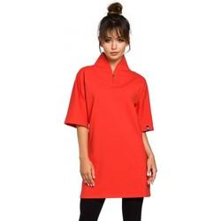 Abbigliamento Donna Tuniche Be B043 Tunica kimono - rosso