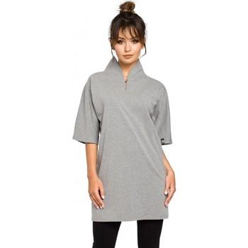 Abbigliamento Donna Tuniche Be B043 Tunica kimono - grigio