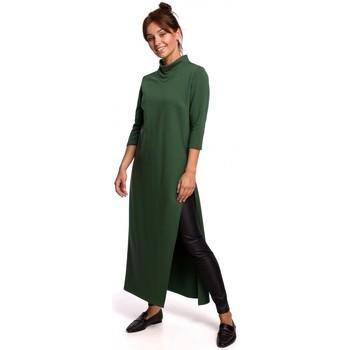 Abbigliamento Donna Tuniche Be B163 Tunica con spacco alto - verde acqua