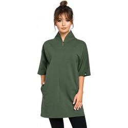 Abbigliamento Donna Tuniche Be B059 - Tunica a maglia con orlo Rav - grafite