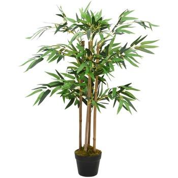 Casa Piante artificiali Vidaxl Pianta Artificiale Bambù Twiggy con Vaso 90 cm Verde