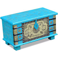 Casa Bauli, scatole di immagazzinaggio VidaXL Cassapanca 80 x 40 x 45 cm Blu