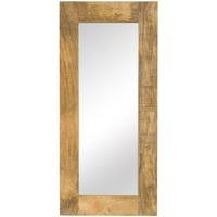 Casa Specchi VidaXL Specchio 50 x 110 cm Marrone