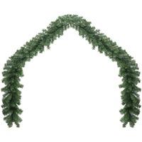 Casa Decorazioni natalizie VidaXL Ghirlanda 5 m Verde